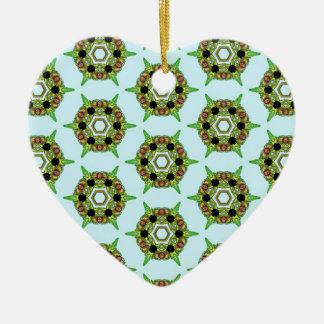 Belladonna5 Ornement Cœur En Céramique