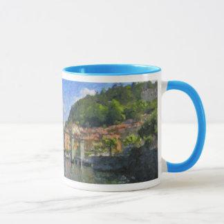 Bellagio, lac Como, tasse de l'Italie