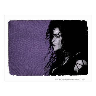 Bellatrix Lestrange 5 Carte Postale