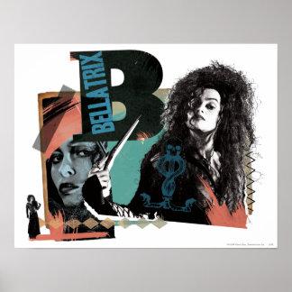 Bellatrix Lestrange 6 Affiche