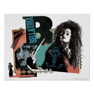 Bellatrix Lestrange 6 Poster