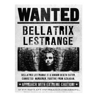 Bellatrix Lestrange a voulu l'affiche Carte Postale