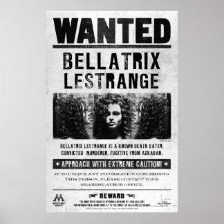 Bellatrix Lestrange a voulu l'affiche Poster