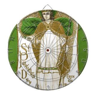 Belle affiche de patrick de saint vieille jeux de fléchettes