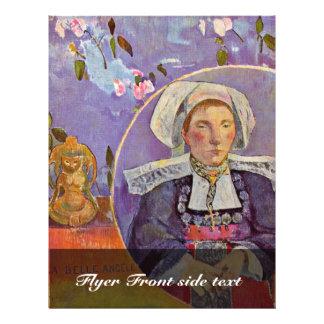 Belle Angele de La par Gauguin Paul (la meilleure  Prospectus En Couleur