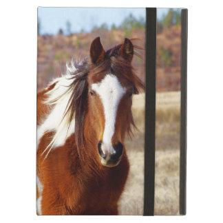 Belle caisse d'air d'iPad de cheval de peinture