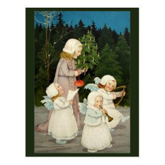 Belle carte de Noël vintage Cartes Postales