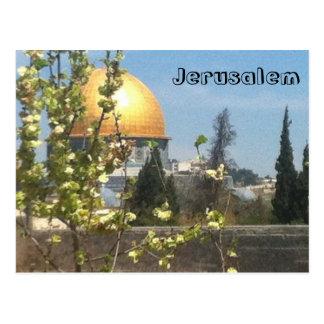 Belle carte postale de Jérusalem