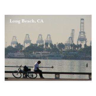 Belle carte postale de Long Beach !