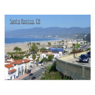 Belle carte postale de Santa Monica !