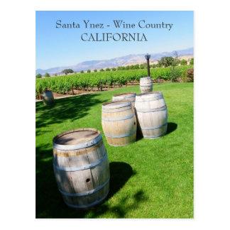 Belle carte postale de Santa Ynez !