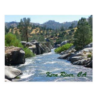 Belle carte postale superbe de rivière de Kern !