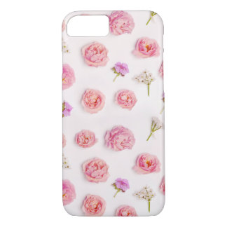 Belle composition florale coque iPhone 7