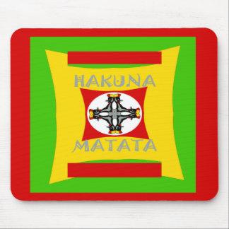 Belle conception extraordinaire de Hakuna Matata Tapis De Souris