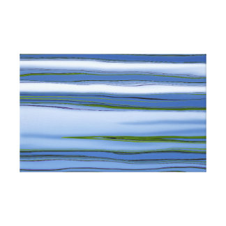 Belle copie de toile de ciel bleu