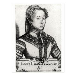Belle Cordiere, 1555 de La de Louise Labe Cartes Postales