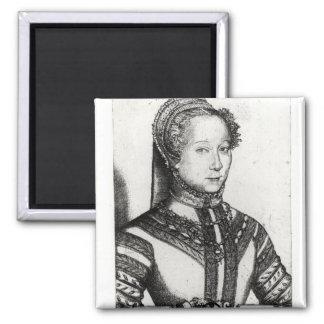 Belle Cordiere, 1555 de La de Louise Labe Magnet Carré