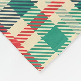 Belle couverture colorée d'ouatine de plaid