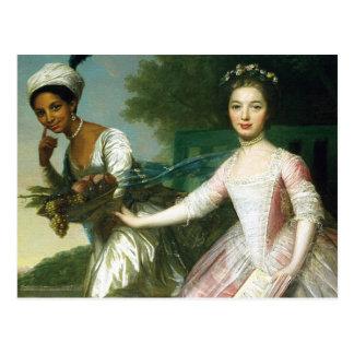 Belle et Madame Murray d'Elizabeth de Dido Cartes Postales
