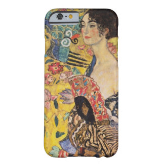 Belle femme avec la fan par Klimt Coque iPhone 6 Barely There