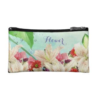 Belle fleur florale d'orchidées dans le sac