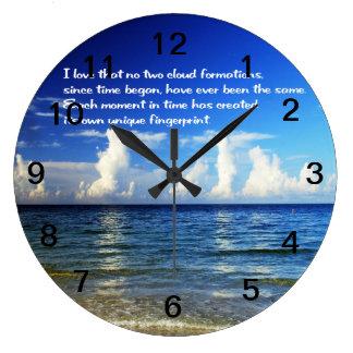 Belle horloge murale