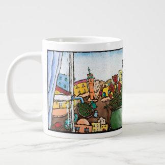 Belle Jaffa tasse d'éléphant Jonathan KIS-Lev