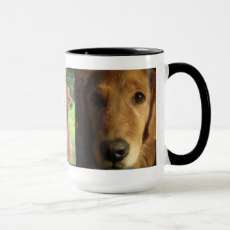 Belle Madame Mug de golden retriever