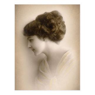 Belle Madame victorienne Portrait Cartes Postales