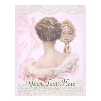 Belle Madame vintage In Pink Prospectus 21,6 Cm X 24,94 Cm