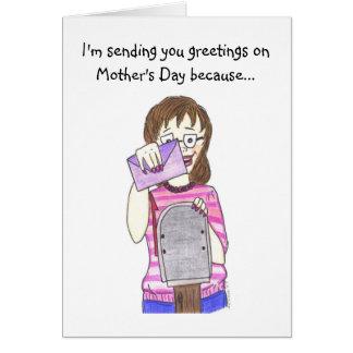 Belle-mère Carte De Vœux