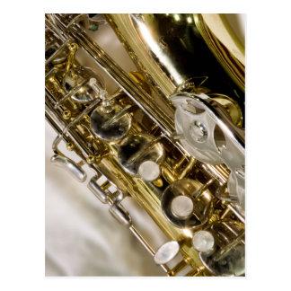 Belle musique--Saxophone Carte Postale