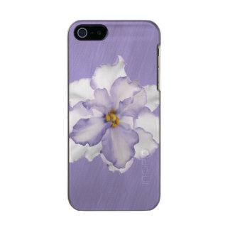 Belle orchidée de lavande coque iPhone 5 incipio feather® shine