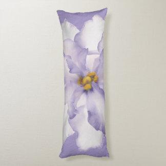 Belle orchidée de lavande coussins longs