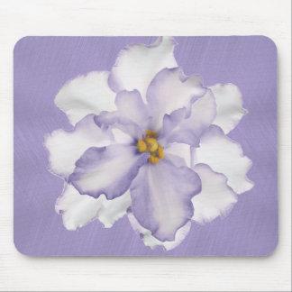 Belle orchidée de lavande tapis de souris