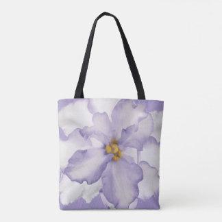 Belle orchidée de lavande tote bag