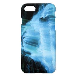 Belle peinture de cascade coque iPhone 7