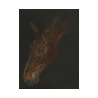 belle peinture de cheval de Warmblood de Belge Toiles Tendues