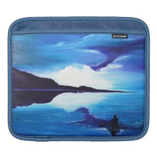 Belle peinture de mer et d'océan poches pour iPad