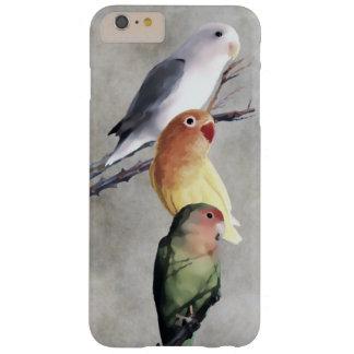 Belle peinture de perruches coque iPhone 6 plus barely there