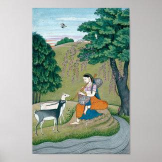 Belle peinture de Ragini Todi Posters