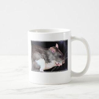 Belle peinture de rat mug blanc