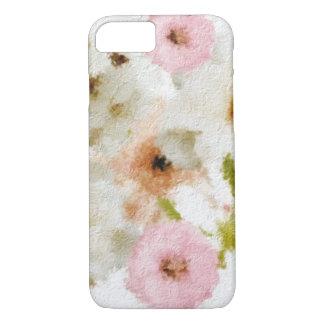 belle peinture florale coque iPhone 7