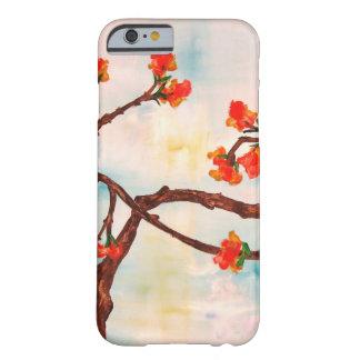 Belle peinture florale des fleurs coque iPhone 6 barely there