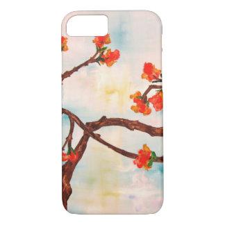Belle peinture florale des fleurs coque iPhone 7