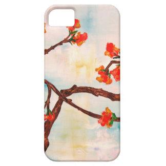 Belle peinture florale des fleurs iPhone 5 case