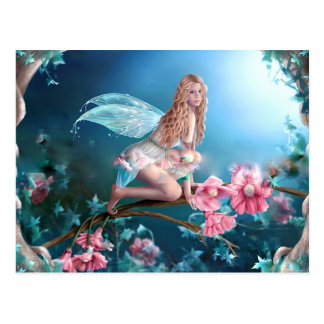 Belle princesse féerique carte postale
