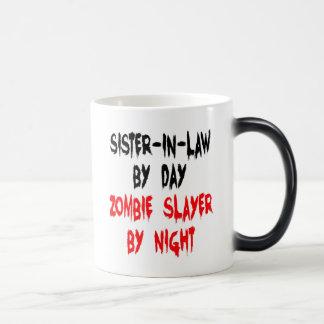 Belle-soeur de tueur de zombi mug magic