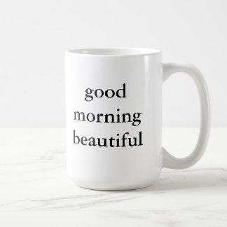 Belle tasse bonjour