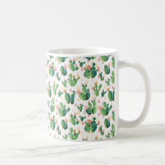 Belle tasse succulente mignonne de cactus